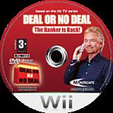 Deal or No Deal: The Banker Is Back Wii disc (RLADMR)