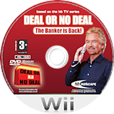 Deal or No Deal: The Banker Is Back Wii disc (RLAPMR)