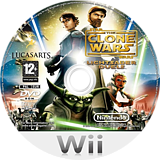 Star Wars The Clone Wars: Lightsaber Duels Wii disc (RLFP64)