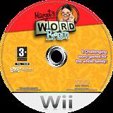 Margot's Word Brain Wii disc (RMIP7J)