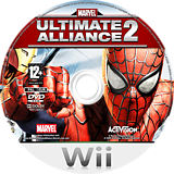 Marvel: Ultimate Alliance 2 Wii disc (RMSP52)