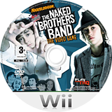The Naked Brothers Band: The Video Game Wii disc (RN5P78)