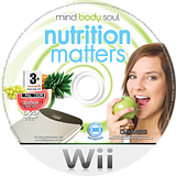 Mind, Body & Soul: Nutrition Matters Wii disc (RNIPGT)