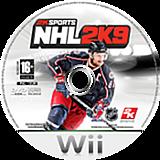 NHL 2K9 Wii disc (RNLP54)
