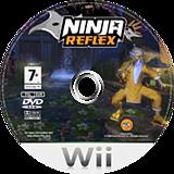 Ninja Reflex Wii disc (RNZP69)