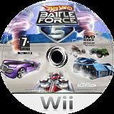 Hot Wheels: Battle Force 5 Wii disc (RO5P52)
