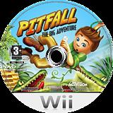 Pitfall: The Big Adventure Wii disc (RPFU52)
