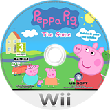 Peppa Pig: The Game Wii disc (RPHPPN)