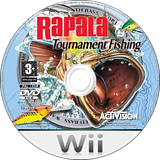 Rapala Tournament Fishing Wii disc (RPLP52)