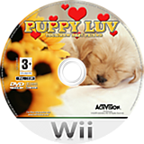 Puppy Luv: Your New Best Friend Wii disc (RPTP52)