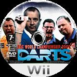PDC World Championship Darts 2009 Wii disc (RQ3PGN)