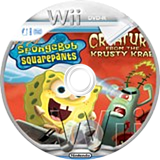 SpongeBob SquarePants: Creature from the Krusty Krab Wii disc (RQ4P78)