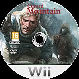 Cursed Mountain Wii disc (RQ6PKM)