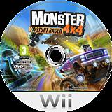 Monster 4x4: Stunt Racer Wii disc (RQZP41)