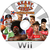 Ready 2 Rumble Revolution Wii disc (RR5P70)