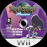 Rock 'N' Roll Adventures Wii disc (RRAXUG)