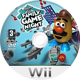 Hasbro: Family Game Night Wii disc (RRMX69)