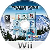 Winter Sports 2009: The Next Challenge Wii disc (RRUFRT)
