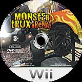 Monster Trux Arenas Wii disc (RRXPUG)