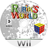 Rubik's Puzzle World Wii disc (RRZPGY)