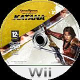 Samurai Warriors: Katana Wii disc (RS5PC8)