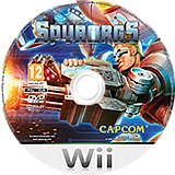 Spyborgs Wii disc (RSWP08)