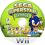 SEGA Superstars Tennis Wii disc (RT5P8P)