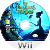 Disney: The Princess and the Frog Wii disc (RU5P4Q)