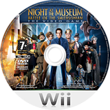 Night at the Museum: Battle of the Smithsonian - The Video Game Wii disc (RU7X5G)