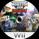 Monster Jam: Urban Assault Wii disc (RUAP52)