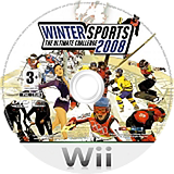 Winter Sports 2008: The Ultimate Challenge Wii disc (RUCPRT)