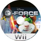 G-Force Wii disc (RUEY4Q)