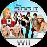 Disney: Sing It Wii disc (RUIP4Q)