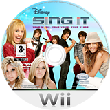 Disney: Sing It Wii disc (RUIX4Q)