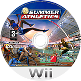 Summer Athletics Wii disc (RUMPFR)
