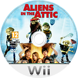 Aliens in the Attic Wii disc (RUOPPL)