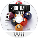 Pool Hall Pro Wii disc (RURPPL)