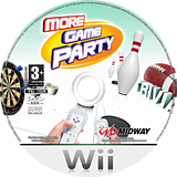 More Game Party Wii disc (RV2P5D)