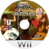 Avatar: The Legend of Aang - The Burning Earth Wii disc (RVAP78)