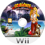 So Blonde: Back to the Island Wii disc (RVJPFR)