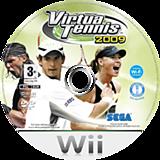 Virtua Tennis 2009 Wii disc (RVUP8P)