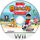 Big Beach Sports Wii disc (RVVP78)