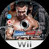 WWE SmackDown vs. Raw 2009 Wii disc (RW9P78)