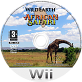 Wild Earth: African Safari Wii disc (RWDP5G)