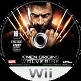 X-Men Origins: Wolverine Wii disc (RWUP52)