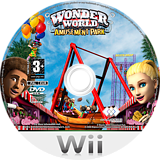 Wonder World Amusement Park Wii disc (RWZX5G)