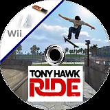 Tony Hawk: Ride Wii disc (RX5P52)