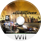 Need for Speed: Undercover Wii disc (RX9P69)