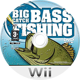 Big Catch Bass Fishing Wii disc (RXPPGT)