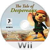 The Tale of Despereaux Wii disc (RXRXRS)